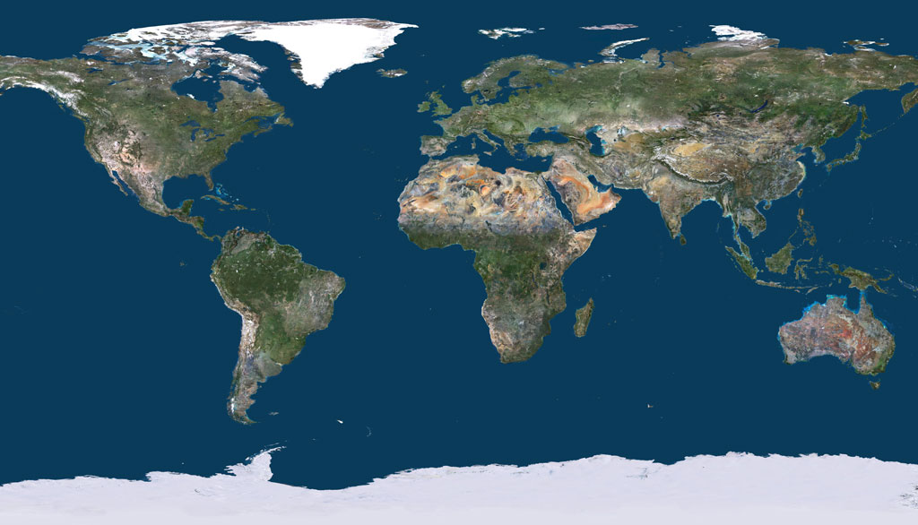 The most up-to-date global imagery basemap